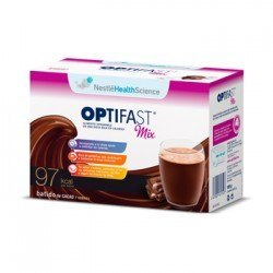 Optifast Mix Batido Cacao. 7 Sobres