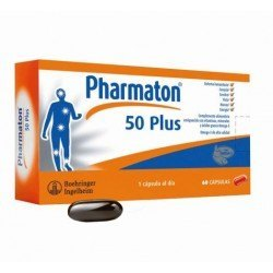 PHARMATON 50 PLUS. 30 CAPSULAS