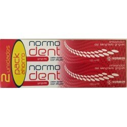 Pack Pasta Normadent Gingivitis 2x125mL