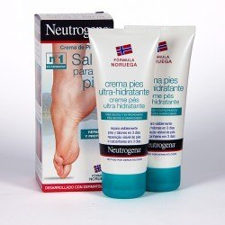 Crema Neutrogena Pies Secos Ultra Hidratante. DUPLO (100 mL+ 100 mL)