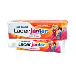 Gel Dental Junior Lacer Fresa. 50 mL