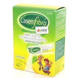 Casen Fibra Junior Polvo. 14 Sticks. 2,5 g
