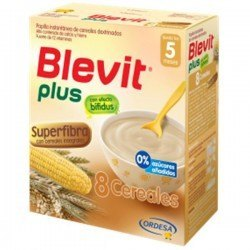 Blevit Plus 8 Cereales con Superfibra. 600 gr