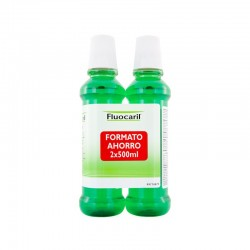 Colutorio Fluocaril. 2x500mL