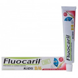 Gel Dental Niños Fluocaril 2-6 años. Sabor Fresa. 50 mL