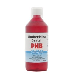 Colutorio PHB Clorhexidina 0,12% 500 mL